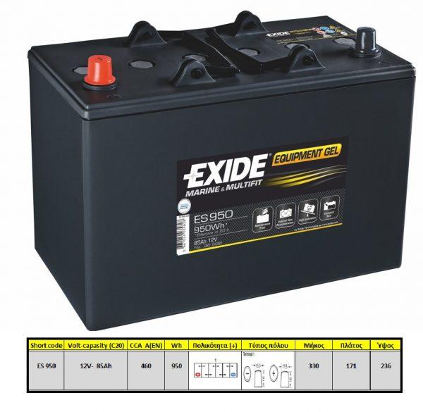 Exide-Equipment-Gel-ES950